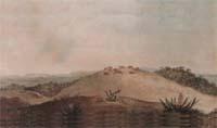 Ponta Grossa 1827 - Aquarela pintada por Jean Baptiste Debret em 1827, é a primeira imagem registrada a respeito de Ponta Grossa