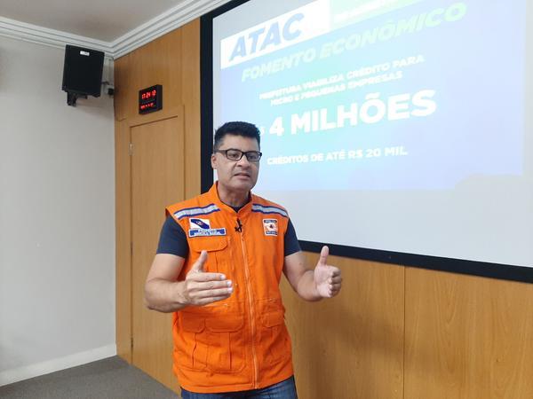 ATAC COVID-19 Prefeitura viabiliza R$ 4 milhões para micro e pequenas empresas
