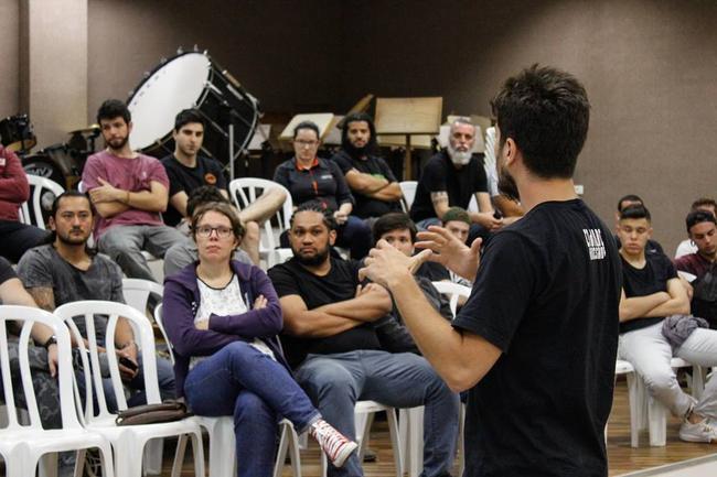 Workshop reúne bandas ponta-grossenses para falar sobre produção